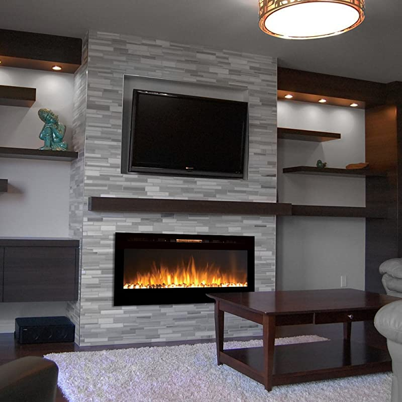 Wall Mount Electric Fireplace And Tv How To Prevent Wall