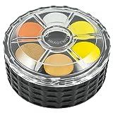 Koh-I-Noor Watercolor Wheel Stack Pack (pack of 6 x 36 colors) (Tamaño: pack of 6 x 36 colors)