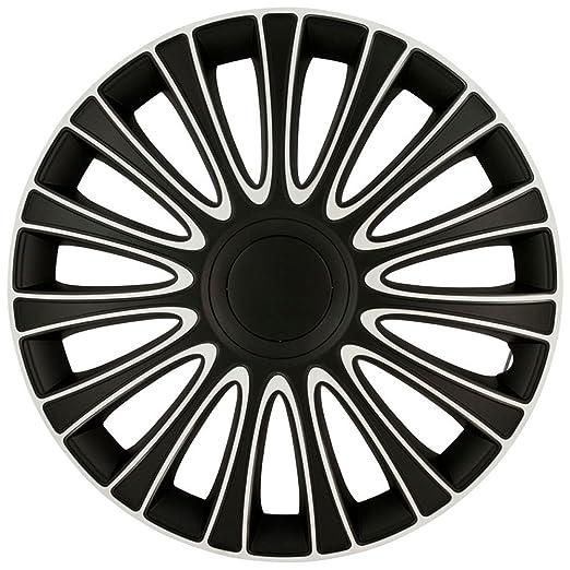 autostyle lemans pro lot d 39 enjoliveurs d 39 enjoliveurs noir blanc 13 4 pi ces auto et. Black Bedroom Furniture Sets. Home Design Ideas
