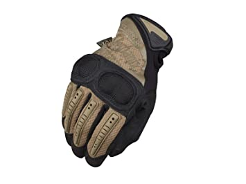 Mechanix M-Pact 3 Hard Knuckle Gloves Medium Coyote Tan