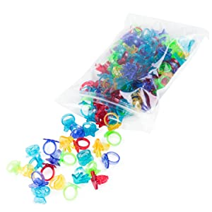 144 Plastic Magnifying Glasses Favor Party Gift Bag Fillers Prize Assortment