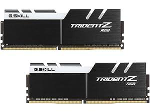 G.SKILL TridentZ RGB Series 32GB (2 x 16GB) DDR4 3200Mhz DIMM CAS 16 F4-3200C16D-32GTZR (Tamaño: 32 Gb)
