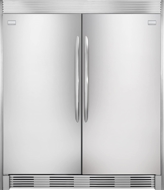 Frigidaire Gallery Refrigerator Freezer Combo with Trim Kit