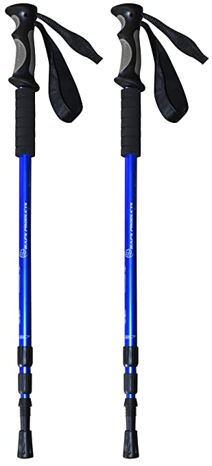 BAFX Products A-8956 Anti-schock Hiking Poles, 1 Pair