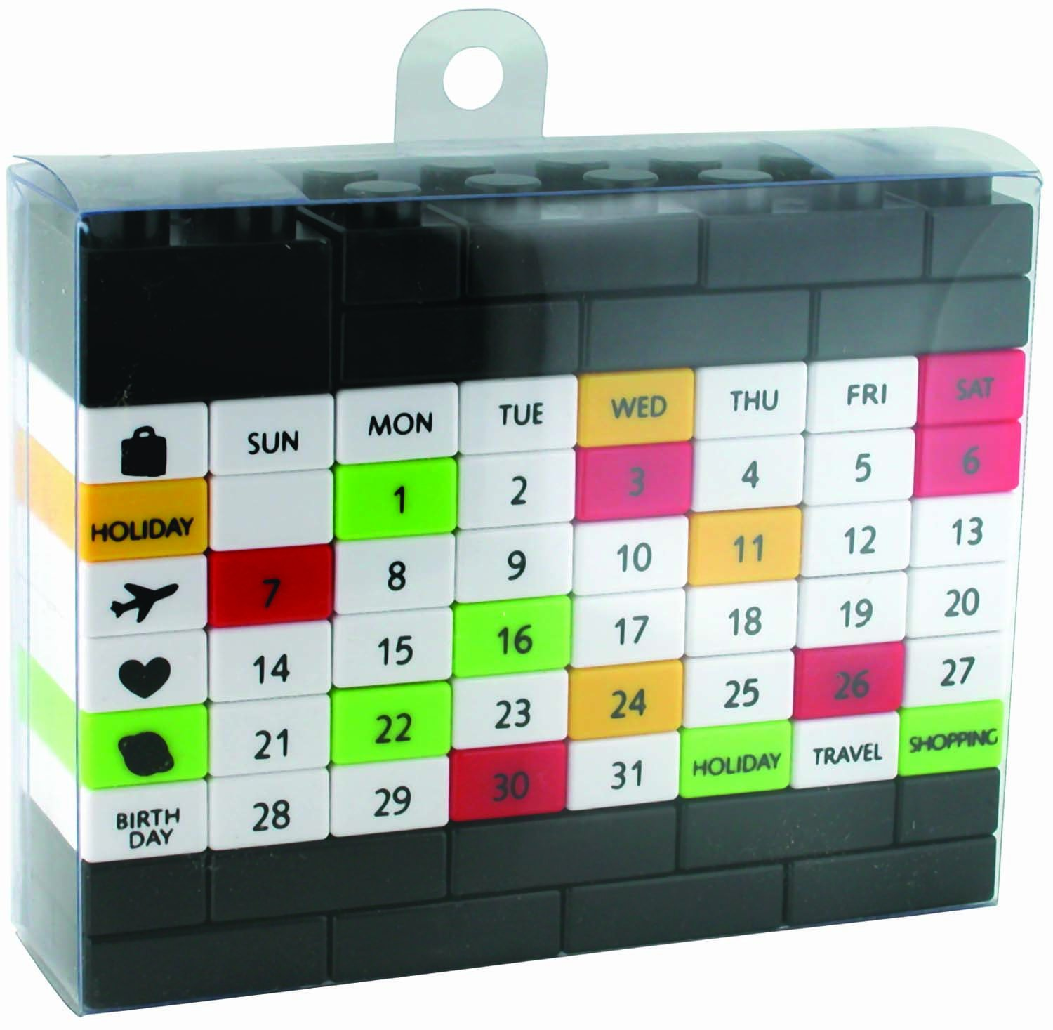 puzzle perpetual calendar recycle every year