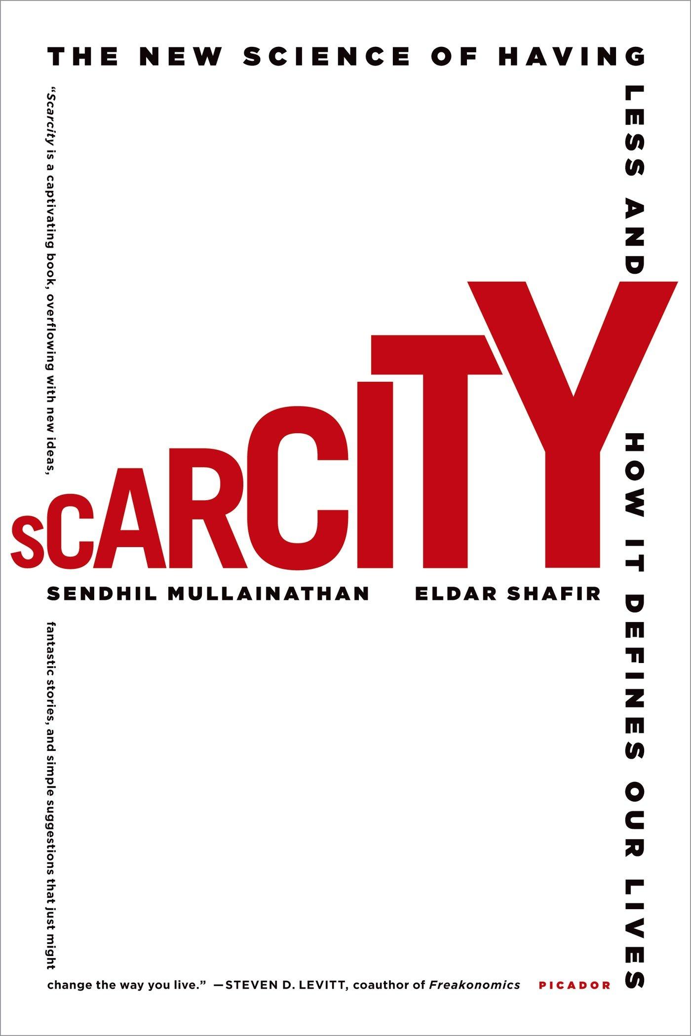 Scarcity ISBN-13 9781250056115