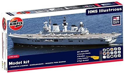 Airfix - A50059 - Maquette - HMS Illustrious Gift Set