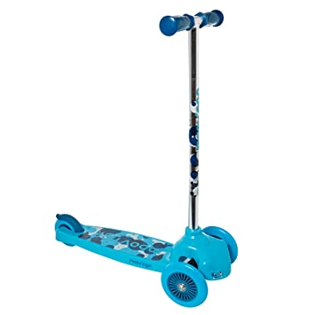 Trottinette 3 roues moov'ngroove : Bleu