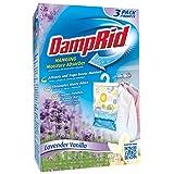 DampRid FG83LV Hanging Moisture Absorber Lavender Vanilla, 3-Pack (Color: Multi, Tamaño: 1)