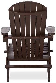Strathwood basics adirondack adirondack chaise de for Meuble porte gobelet