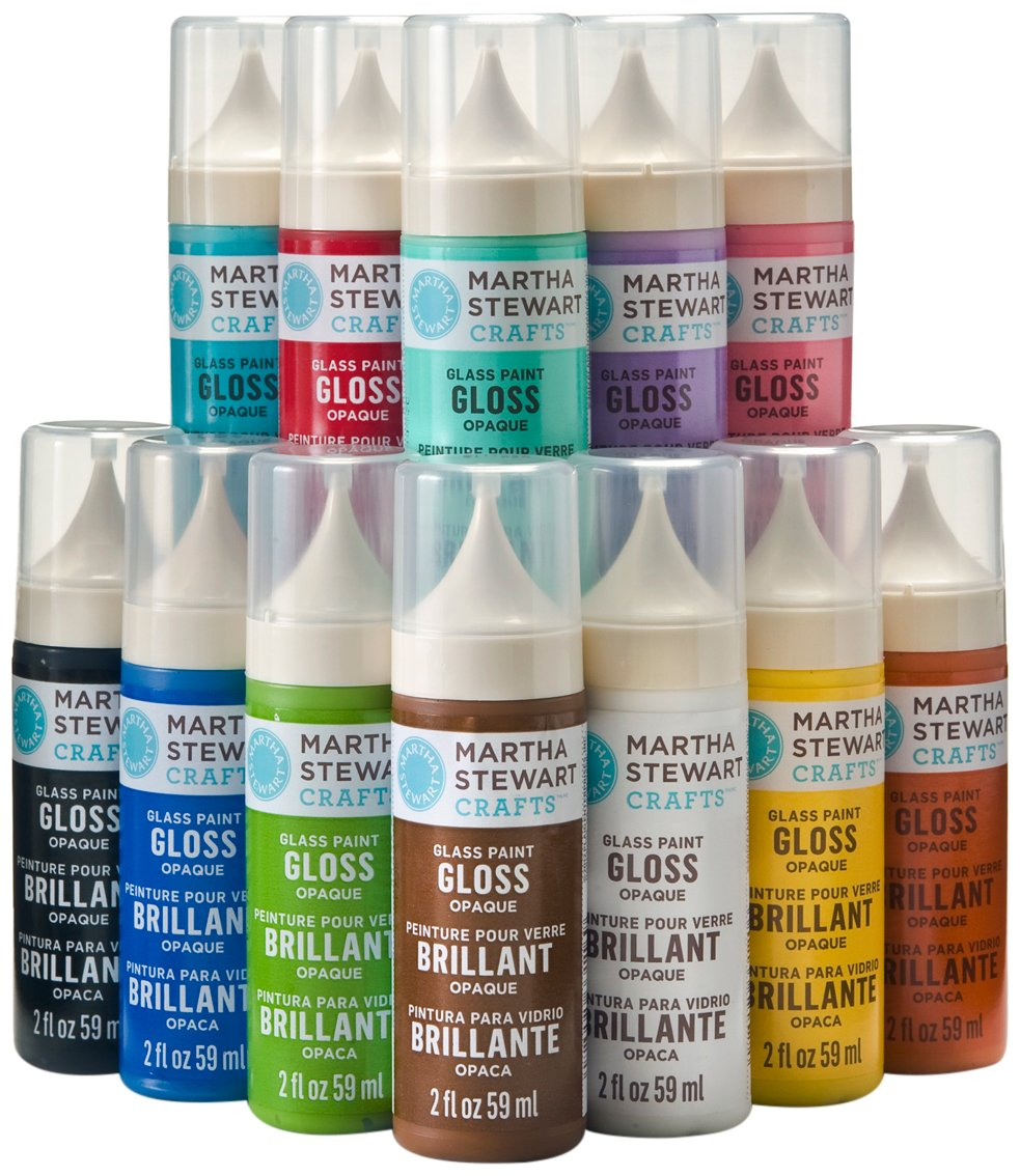 Holiday Gift Guide for the {Crafty} DIY-Lover: Martha Stewart Glass Paints