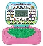 Prasid Smart Lovely English Learner Kids Laptop, Pink/Green