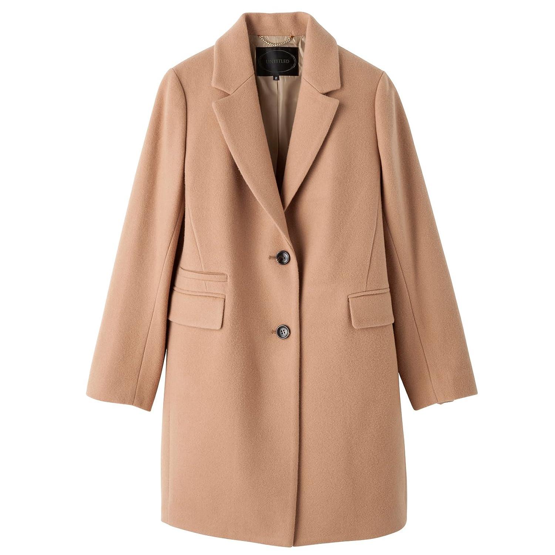 Amazon.co.jp: (アンタイトル)UNTITLED チェスターコート ベージュ系(052) 02(M): 服&ファッション小物通販