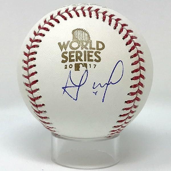 Jose Altuve Autographed 2017 World Series Baseball