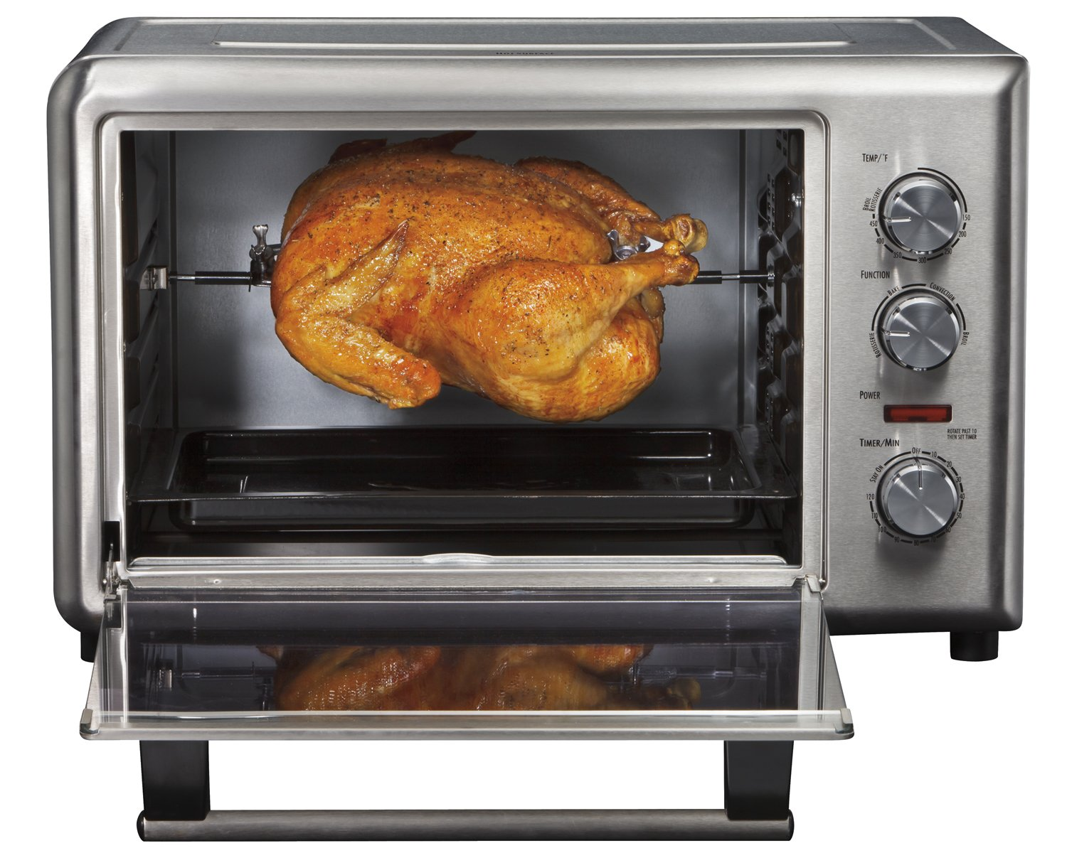 Countertop Convection Oven Chicken : ... large Countertop Oven Toaster Rotisserie Pizza Chicken Bake eBay