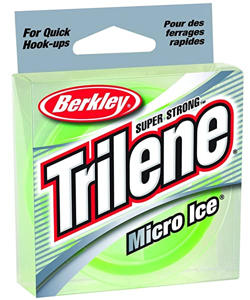 Berkley Trilene Micro Ice Fishing Line 110 Yd Spool