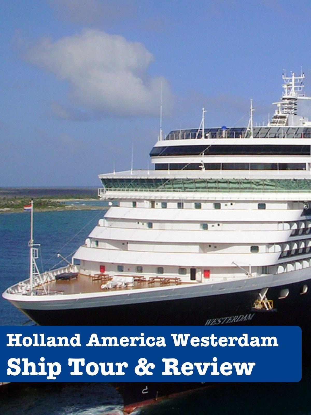 Clip: Holland America Westerdam Ship Tour And Review