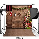 SJOLOON 10x10ft Christmas theme Pictorial cloth Customized photography Backdrop Background studio prop JLT10370 (Color: 10370 10X10FT, Tamaño: 10X10FT)