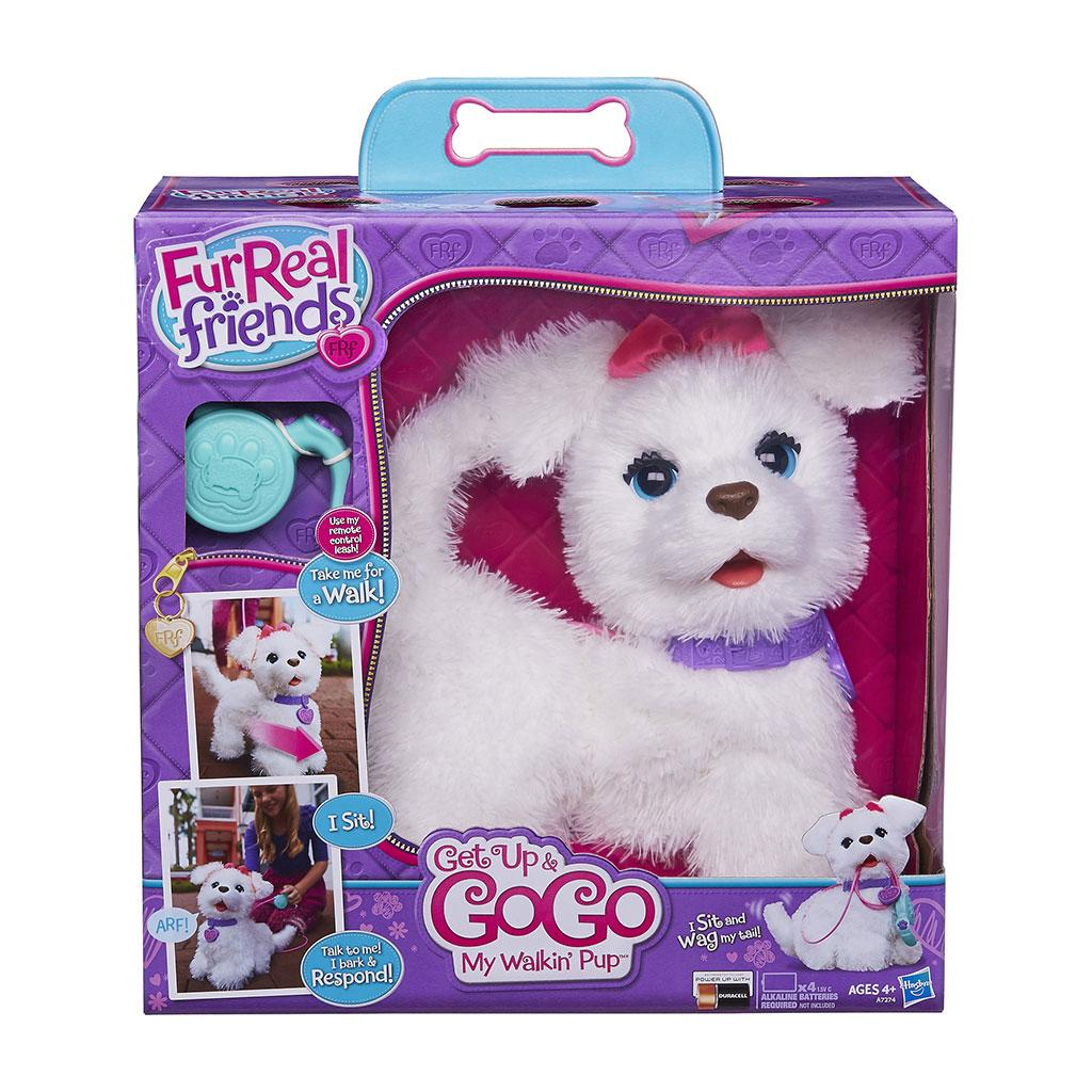 Puppy Toys For 10 And Up : Amazon furreal friends get up gogo my walkin pup