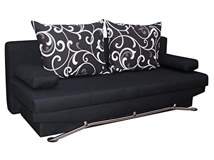 Inter Sofa Nanny schwarz Schlafsofa
