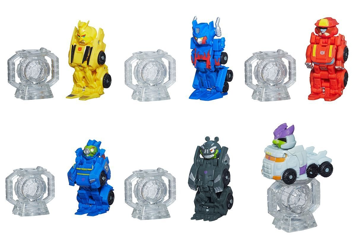 Angry Birds Transformers Telepods Bundle Of 6 Optimus