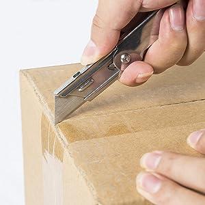 WORKPRO 3-piece Quick Change Folding Pocket Utility Knife Set with Belt Clip (Tamaño: 3-pack)