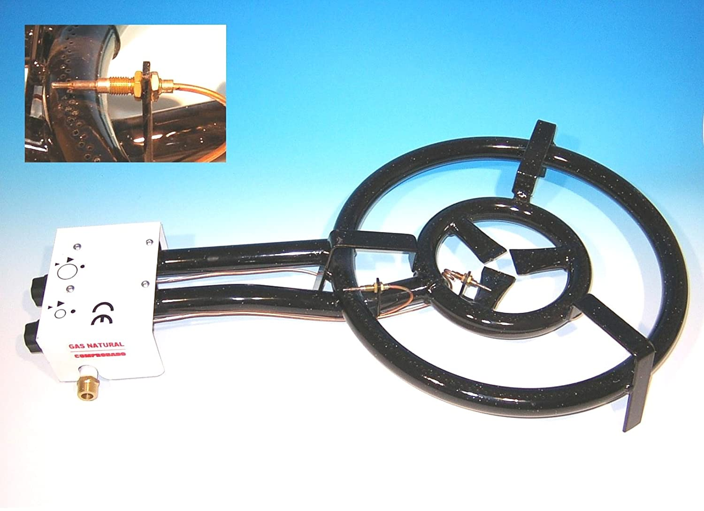 Gasbrenner 30cm, 1-Ring-Brenner 7 KW, mit Zündsicherung, für Innenbenutzung jetzt bestellen