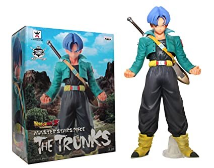 Banpresto - Figurine Master Stars Piece (Dragon Ball Z) - 24,1 cm, « l'Histoire de Trunks »