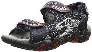 Geox JR SANDAL STRIKE F, chaussures compensées garçon   Commentaires en ligne plus informations