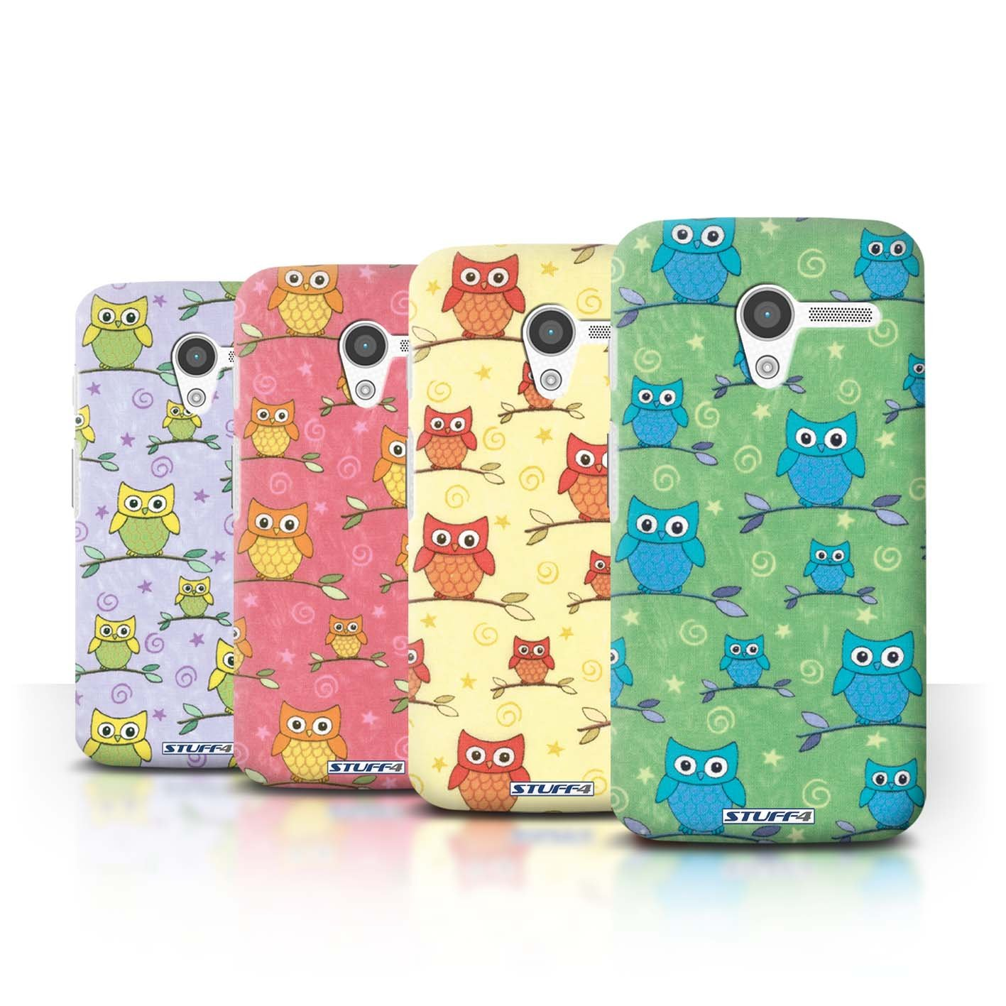 STUFF4 Phone Case / Cover for Motorola MOTO X / Pack (11 pcs) / Cute Owl Pattern Collection / by Deb Strain / Penny Lane Publishing, Inc.review and more news