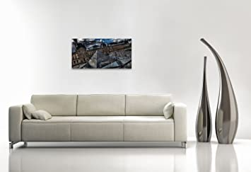 toile pyramide of of louvre 100x50cm d coration murale tableau livr pr t accrocher. Black Bedroom Furniture Sets. Home Design Ideas