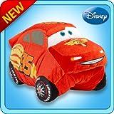 My Pillow Pets Authentic Disney Cars Lightning McQueen 18-Inch Folding Plush Pillow