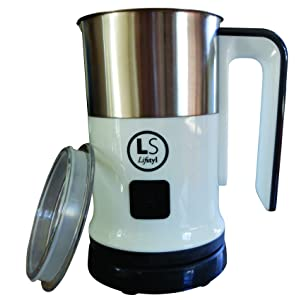 Lifstyl Premier Deluxe Automatic Electric Milk Frother width=