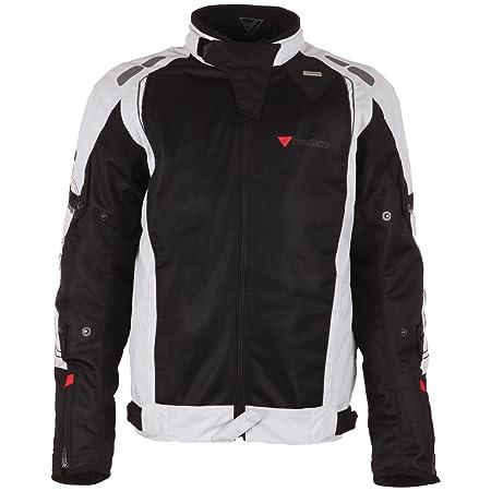 Modeka bREEZE veste en tissu-noir-sport gris