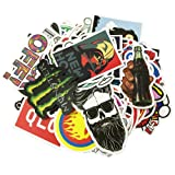 Laptop Stickers 500 pcs Random Sticker Pack Car Stickers Motorcycle Bicycle Luggage Decal Graffiti Patches Skateboard Waterproof Stickers (500Pcs) (Tamaño: 500Pcs)