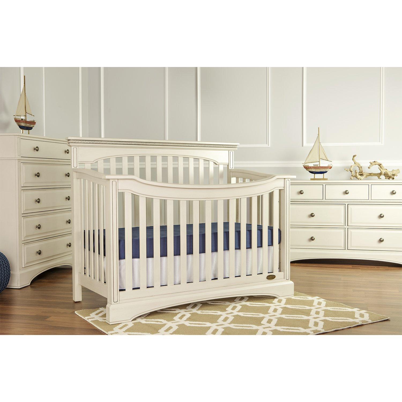 Mia Moda Catalina Flat Top Convertible Crib
