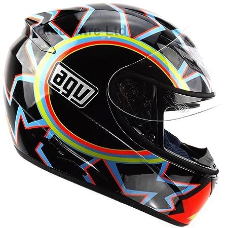 Nouveau casque de moto AGV 2015 K3 Rossi 46