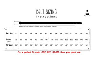 Fashion Classic Design Milorde/'s Men Genuine Leather Belt Single Prong Buckle