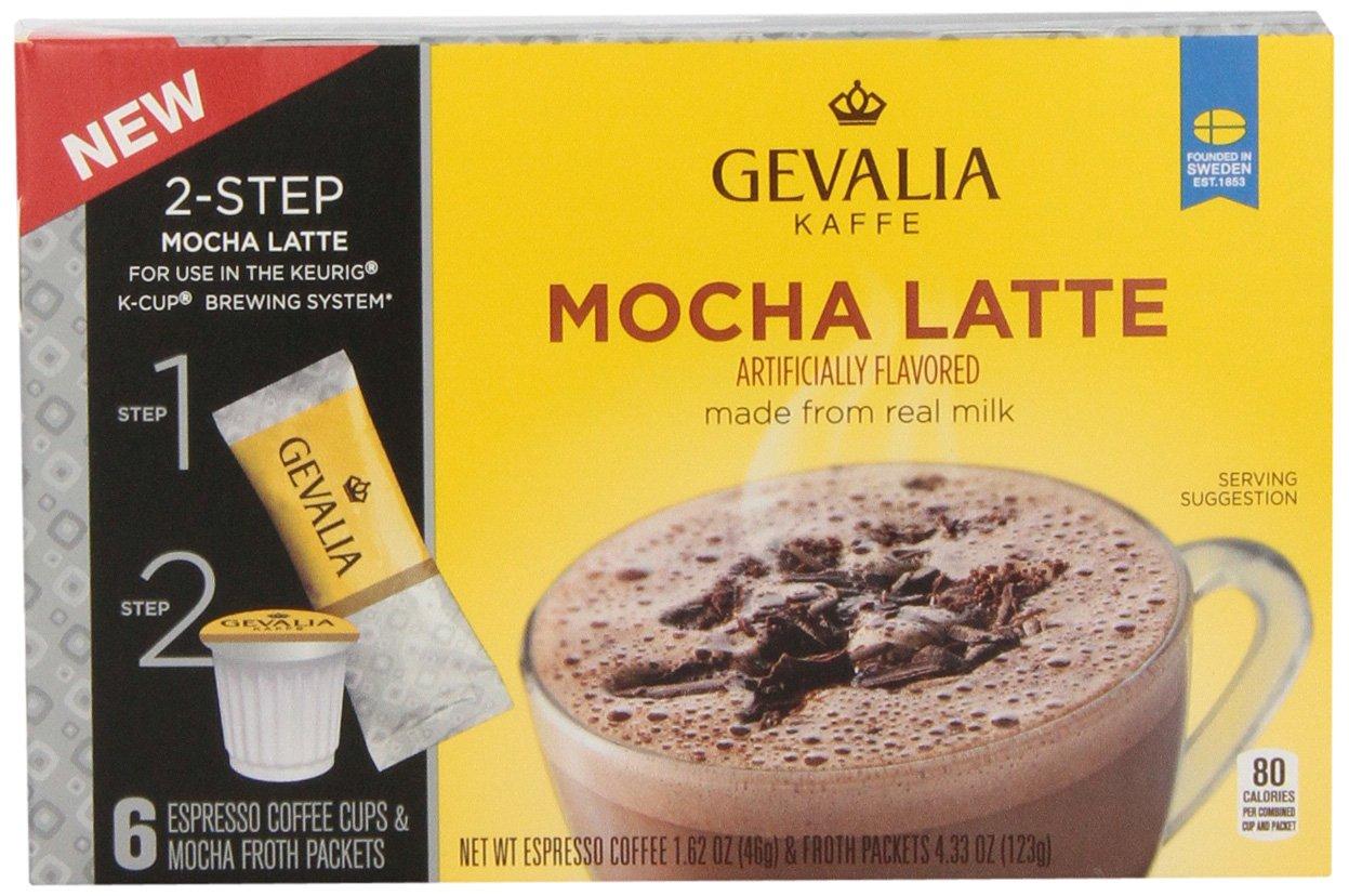 gevalia mocha latte froth packet