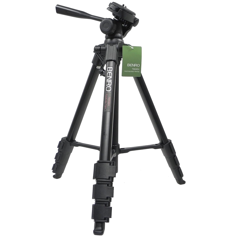 Benro T660EX trepied pour appareil photo avec rotule/t