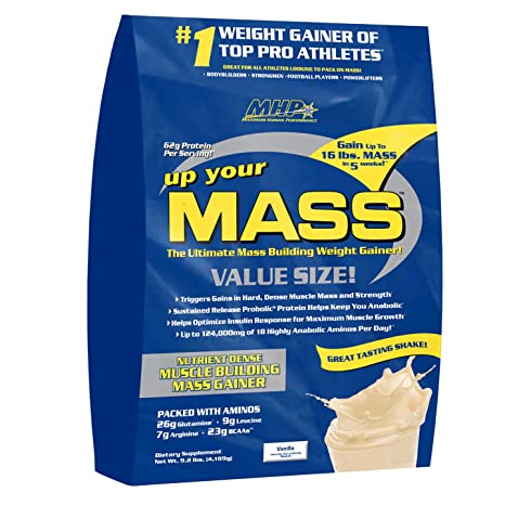 MHP Up your MASS Gainer 10lbs Vanilla