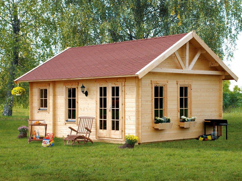 Skan Holz Blockbohlenhaus Toronto 2 70plus, 560 x 420 cm