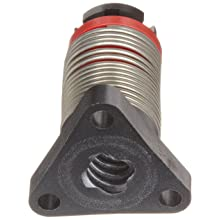 "Kerk Motion Acetal  Anti-Backlash Nut  1/2"" Screw Diameter, 25 lb Load, 79% Efficient 2.0"" Long"