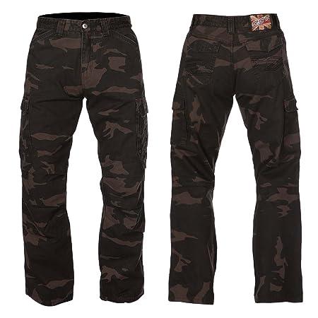 Nouvelle Rst Cargo aramide Kevlar 1486 Lady Brown Jeans