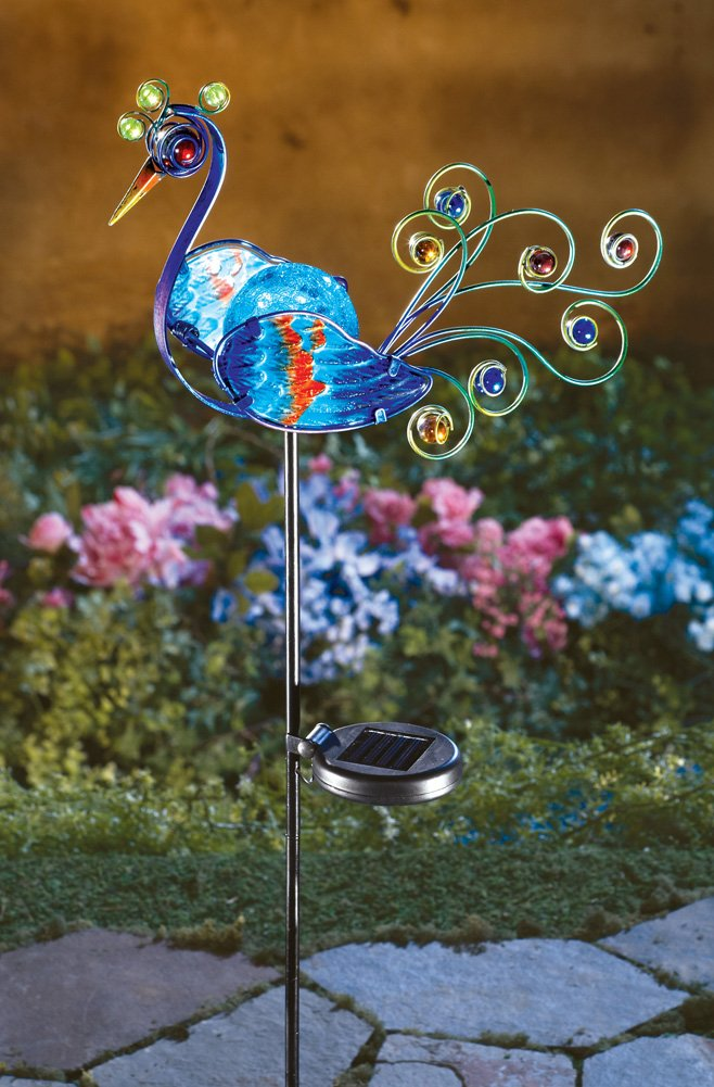 Beautiful peacock garden decorations - Outdoor peacock decorations ...