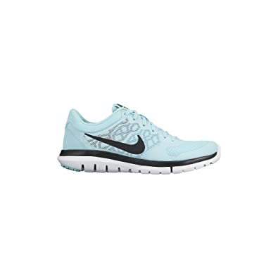 Women's Nike Flex Run 2015 Running Shoe Copa/Blue Lagoon/Black Size 8 M US