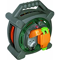 Masterplug HLP2013/2IP 20m Outdoor IP Rated Cable Reel (2 Sockets)
