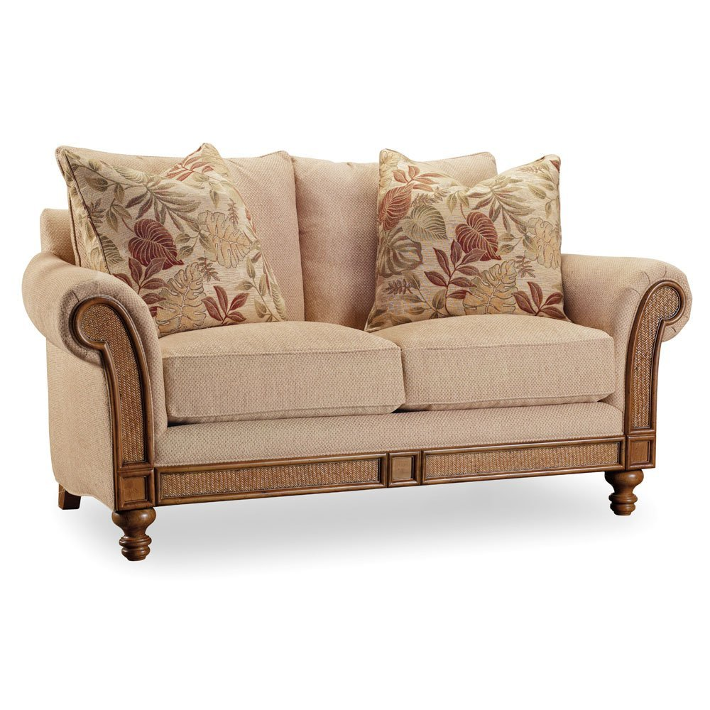 Hooker Furniture 1125-52014 Living Room Windward Dart Honey Loveseat