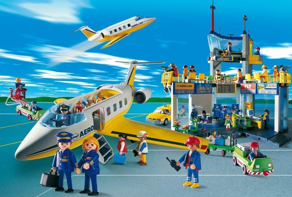 Schmidt – Playmobil, Flughafen mit Figur, 100 Teile Puzzle kaufen