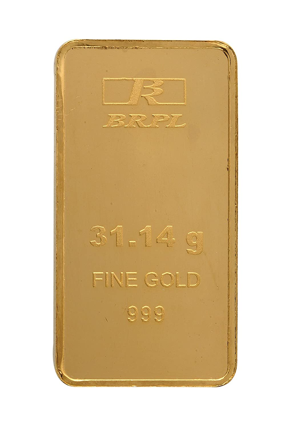 31.104 gm, 24k (999) Yellow Gold Bar